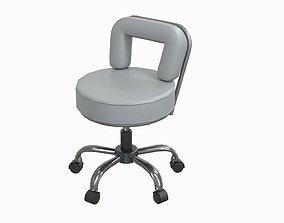 salon chair 3D asset