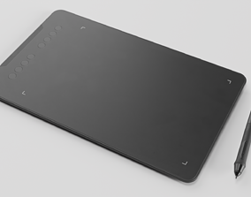Tablet 3D model game-ready