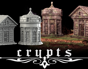 3D printable model Crypts