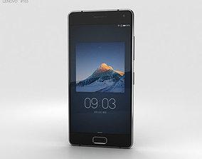 phone 3D Lenovo ZUK Z2 Pro Titanium Black