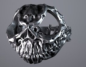 3D print model Halloween Ring