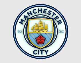 Manchester City Logo 3D model
