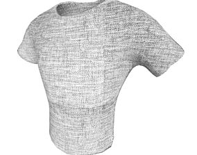 realtime T-shirt 001 Lowpoly 3D model Vray Ready Game 3