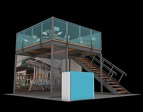 Maxima structure 6x6 double deck 3D