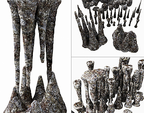 Cave stone 3D