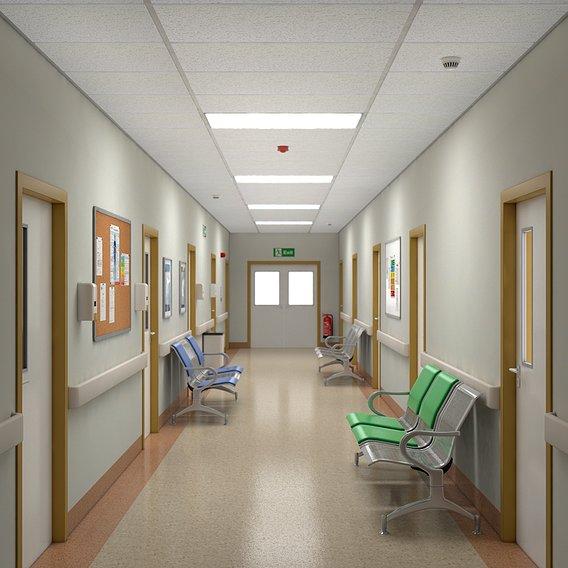 Hospital Corridor V3