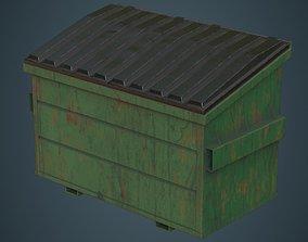 Dumpster 3B 3D asset