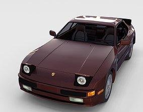 3D Porsche 944S w interior rev
