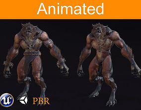 Character Werewolf 3D model