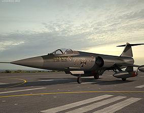 3D model Lockheed F-104 Starfighter