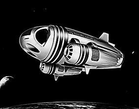 3D model Spacecraft 04