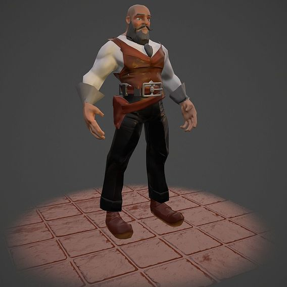 character for video games