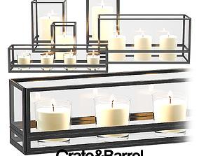 3D model Jasper Candle Holders