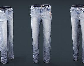 Jeans 3D asset
