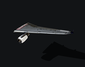 3D Airbus A320 Wing