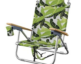 Lawn and Beach Chairs 3D model