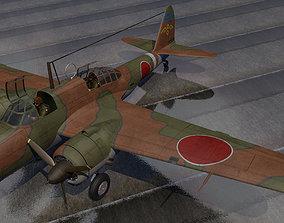 Kawasaki Ki-48 Sokei - aka Lily 3D model