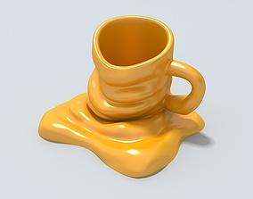 3D Mug new model Ready to be 3D printed