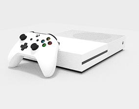 Xbox One S 3D model