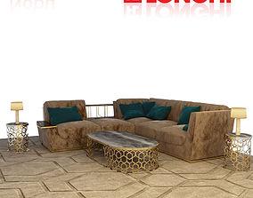 longhi nobu sofa 3D