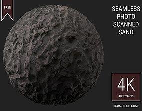 3D Scanned Seamless Sand Footprints environment