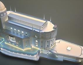 Urania - Vienna Austria 3D model