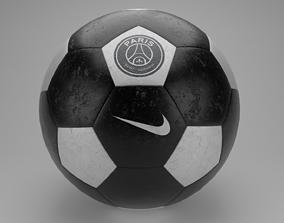 Nike Soccer Ball Special Edition Paris 3D model 1