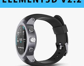 E3D - LG Watch Sport model