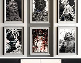 3D asset Art Frame 0102