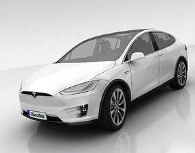 3D model Tesla X