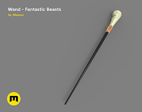 3D print model Queenie Goldstein - Wand from Fantastic