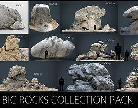 3D model Big Rocks Collection Pack