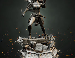 Stormtrooper Samurai 3D print model
