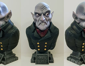 Count Orlok Bust 3D printable model bat