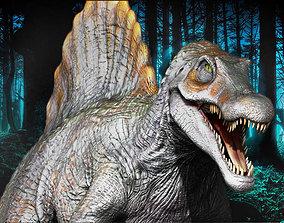 3D asset realtime Spinosaurus