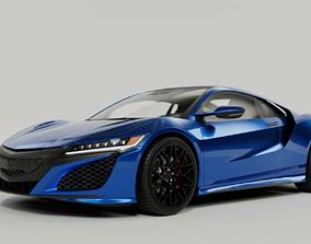 Acura NSX 2016 3D model