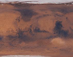 96k Mars Color Map 3D model
