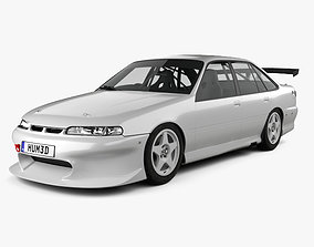 3D Holden Commodore Race Car 1993