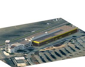 3D asset Oran Es Senia Airport