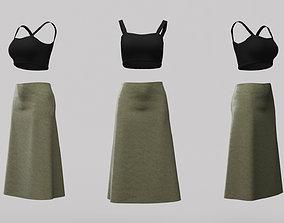 Female Clothing 12 3D asset