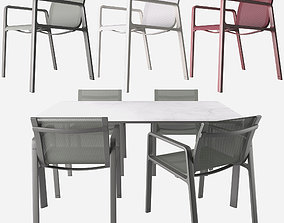Parklife Armchair and Table By Jasper morrison 3D model
