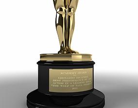 3D model theater Oscar Award