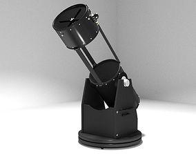 Modern Dobsonian Telescope 3D