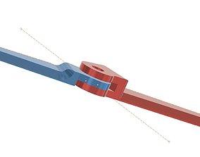 mechanical Model airplane hinges variants