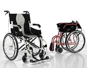 Karma Ergo Flight Wheelchair 3D model