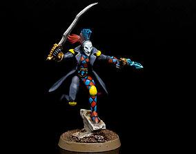 3D print model Harlequine Male Squad Combatant Leader
