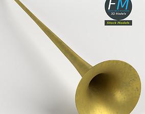 3D Long trumpet