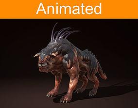 3D asset Creature Ripper Dog
