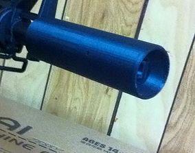 3D print model Hop up Silencer Suppressor for M4a1 gel 3