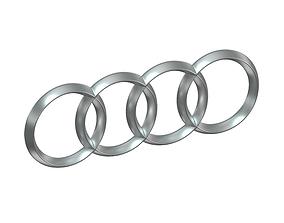 Audi Photorealistic 3D Emblem audi